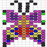 beispiel 2 erstellt mit 2d perlen designer - Perlen Weben Muster